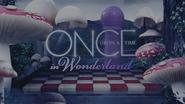 Once Upon a Time in Wonderland logo titlecard générique épisode W1x09