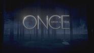 Once Upon a Time logo titlecard générique épisode 3x22