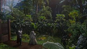 5x04 Lancelot Mary Margaret Blanchard dos porte magique dimension forêt jungle cascade