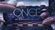 Once Upon a Time in Wonderland logo titlecard générique épisode W1x11
