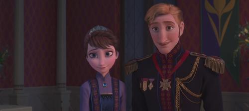 La Reine des Neiges (Disney) Roi Reine Arendelle.png