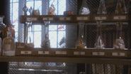 1x16 fioles potions magiques étagères placard armoire