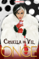 Once Upon a Time season 4 Cruella d'Enfer poster