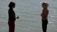 6x04 Regina Mills Emma Swan explication vaincre doubles original port de Storybrooke