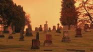 5x12 cimetière des Enfers pierres tombales tombes