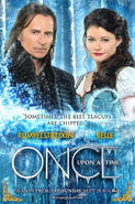 Once Upon a Time season 4 Rumple Belle poster