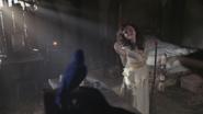1x16 Blanche-Neige chanson Un Sourire en Chantant oiseau bleu balai