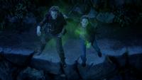 3x01 Peter Pan Henry Mills poudre de fée magie foi croyance falaise envol Pays Imaginaire mini