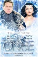 Once Upon a Time season 4 Charmant Snow poster