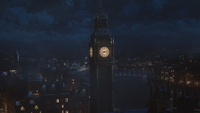 2x21 Angleterre Londres Tour Elizabeth Big Ben vue Tamise