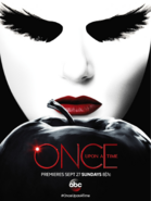 Once Upon a Time season saison 5 Dark Swan pomme poster affiche