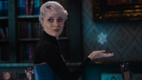 4x06 Elsa Reine des Neiges magie flocon cryokinésie mini