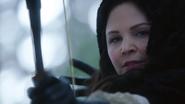 1x16 Blanche-Neige tir arc flèche