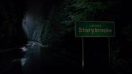 7x22 dernière image panneau Leaving Storybrooke