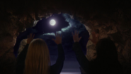 3x08 Rôcher du crâne Regina Emma appel lune obscurité