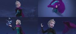 La Reine des Neiges (Disney) Elsa gant magie cryokinésie Montagne du Nord Libérée Délivrée Let It Go.png