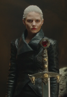 Emma Dark Swan Cygne Noir Ténébreux Ténébreuse Excalibur 5x05