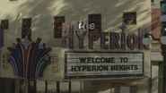 7x03 façade Welcome to The Hyperion Heights