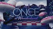 Once Upon a Time in Wonderland logo titlecard générique épisode W1x07