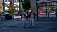 2x06 Neal Cassidy Emma Swan bébé faux échapper Portland