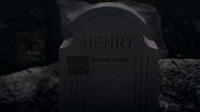 1x02 pierre tombale tombe de Henry Sr père bien-aimé