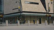 7x03 vue Hyperion Heights Plaza place point lieu de rendez-vous Michael Griffiths