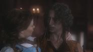 1x12 Belle Rumplestiltskin regard surprise panique
