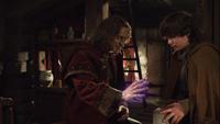 1x19 Rumple soigne Baelfire
