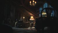 4x18 maison manoir demeure de Madeline Cruella d'Enfer chambre grenier ennui solitude