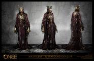 Maleficent Turnaround Concept Art