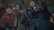 5x12 Dormeur Prof Blanche-Neige Prince David Charmant Méchante Reine Regina arc menace