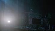 7x03 Carrosse Moto forêt nuit