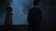 6x04 Mary Lydgate Mr Hyde dos chapeau haut-de-forme rencontre pont nuit