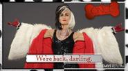 Once Upon a Time season 4 Cruella d'Enfer bannière