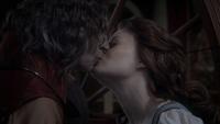 1x12 Rumplestiltskin Belle baiser véritable amour