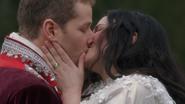 1x22 Prince David Charmant Blanche-Neige baiser fiancés fiançailles