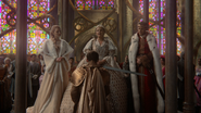 6x10 cérémonie adoubement Princesse Emma Swan Sir Prince Henry chevalier Reine Blanche-Neige discours serment engagement Roi David chapelle pavillon