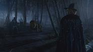 6x18 Stanum Bûcheron Homme de Fer-Blanc Lion Poltron surprise étonnement peur Zelena Méchante Sorcière de l'Ouest dos