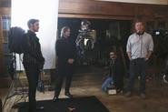 4x11 Photo tournage 1