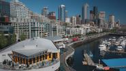 7x02 vue Seattle quais centre communautaire Hyperion Heights Community Center