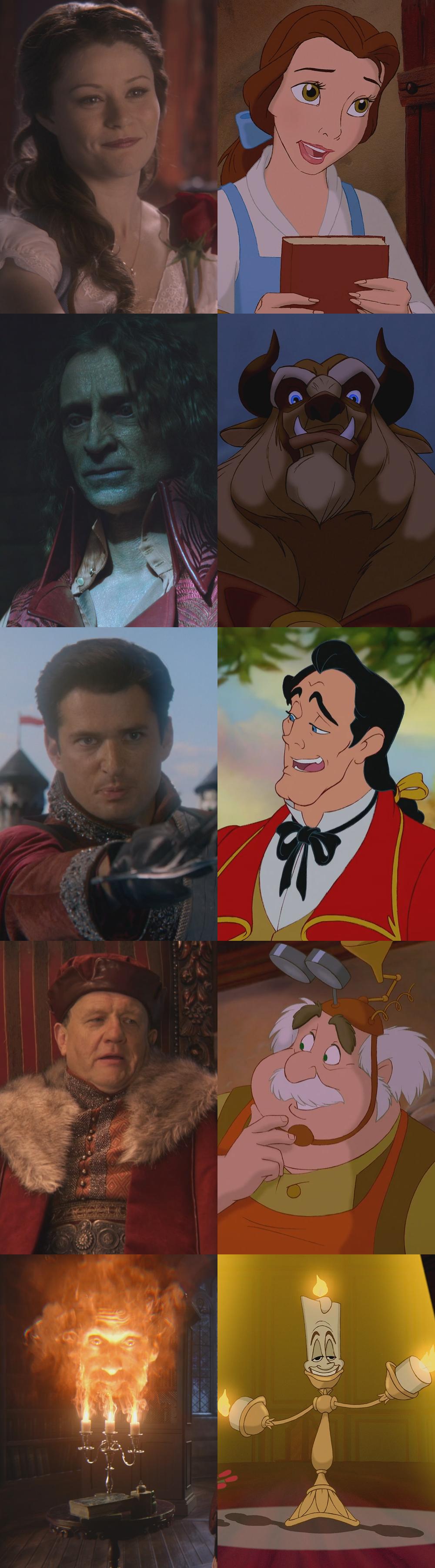 La Belle et la Bête (Disney)/Références