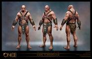 Ogre Turnaround Concept Art