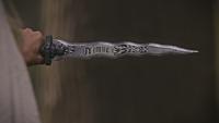 5x07 dague du Ténébreux nom Nimue