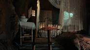 3x07 Wendy Darling endormie chambre échelle Pays Imaginaire