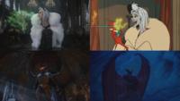 4x12 anecdotes références à Disney Les 101 Dalmatiens Cruella d'Enfer pouvoir fumée verte don de persuasion Chernabog Fantasia Nuit sur le Mont Chauve.png