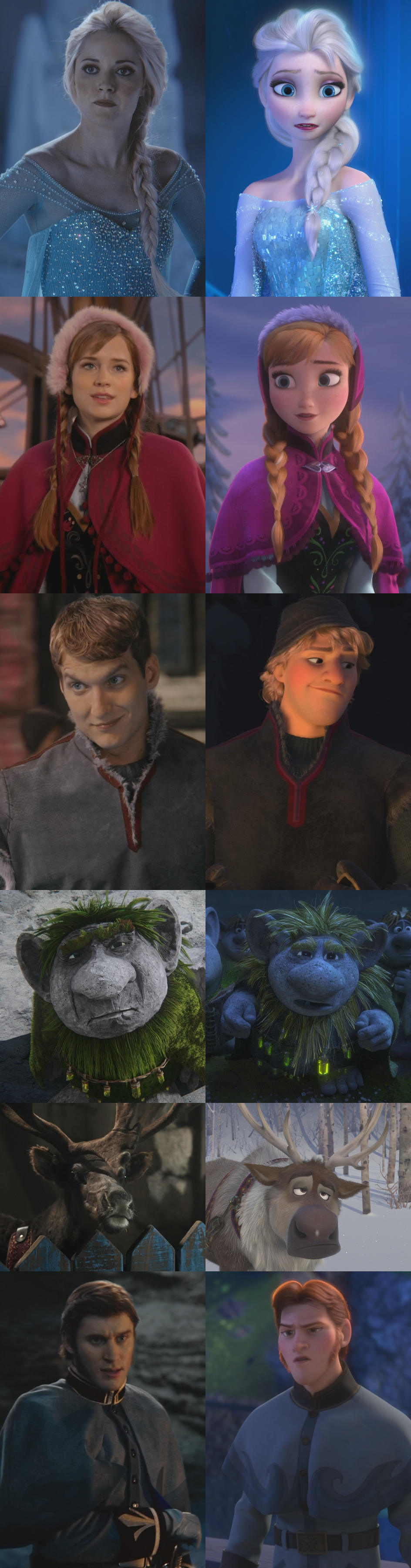 La Reine des Neiges (Disney)/Références