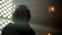 6x01 Aladdin Sauveur souffrance défaite Jafar visite Agrabah
