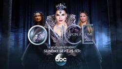 Once Upon a Time saison 6 season 6 promo title card Méchante Reine Sérum Emma Swan Rumplestiltskin