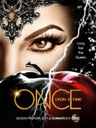 Once Upon a Time season saison 6 Méchante Reine teaser poster affiche Comic Con