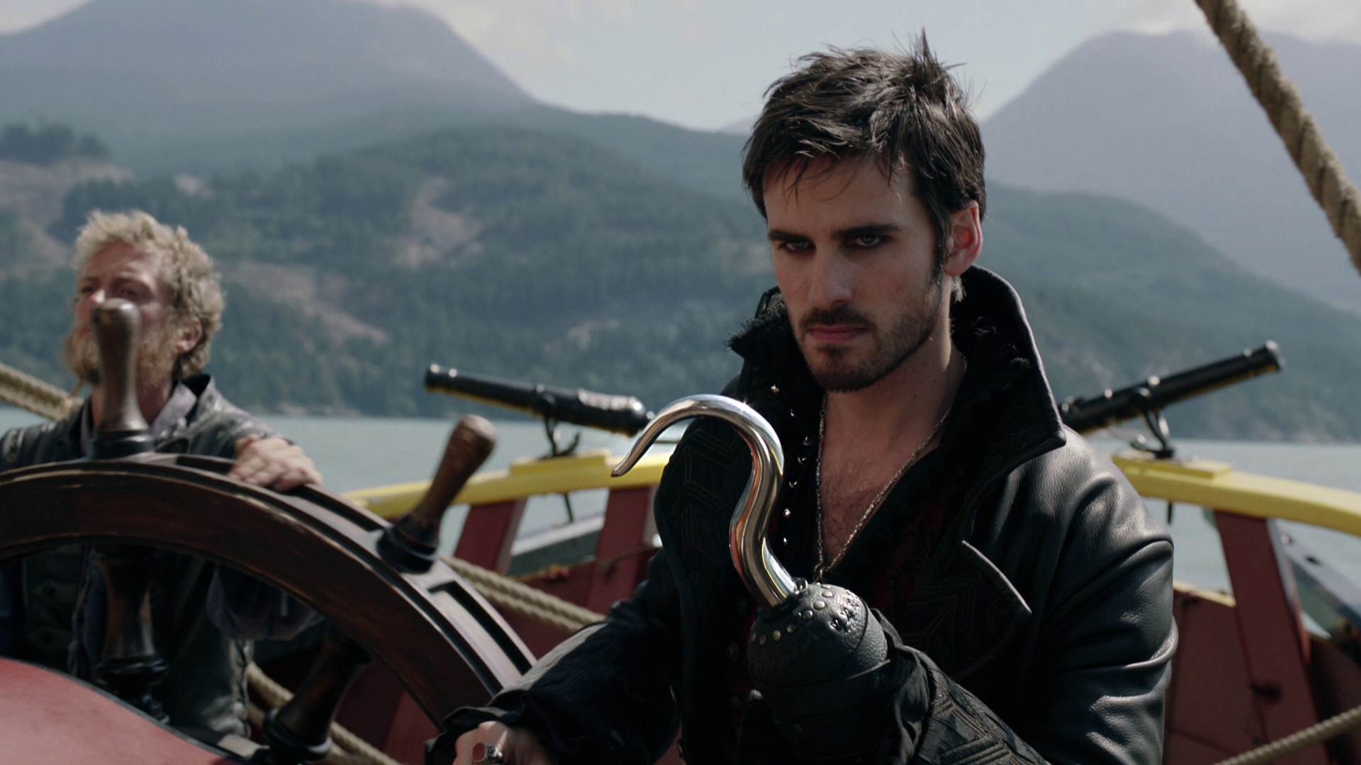 Once Upon A Time Inspired Killian Jones Dagger Necklace